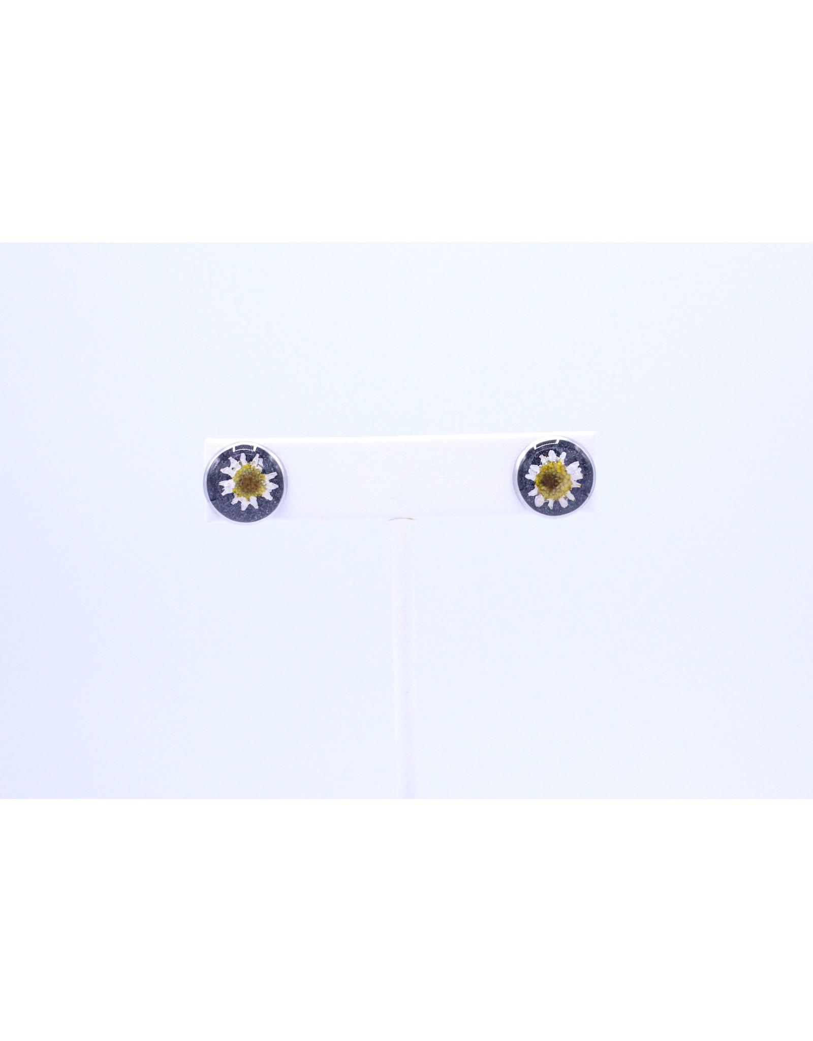 12mm Stud Daisy Earrings - J12SDA1