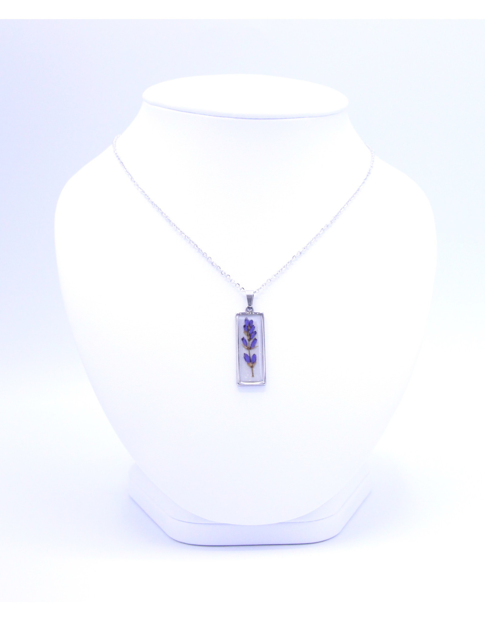 25mm Lavender Necklace - N25L1