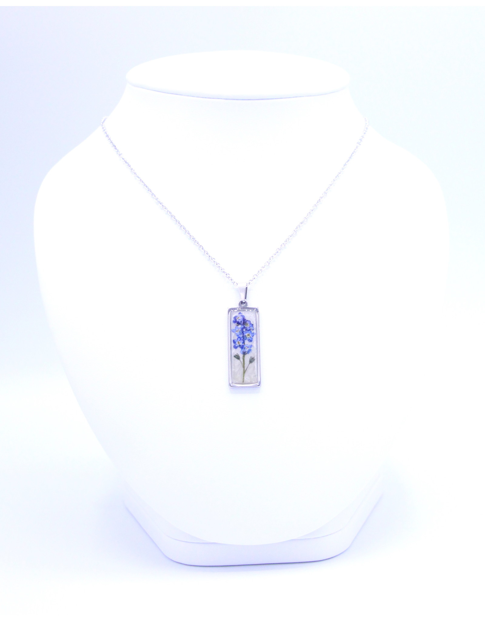 25mm Forget Me Not Necklace - N25FMN1