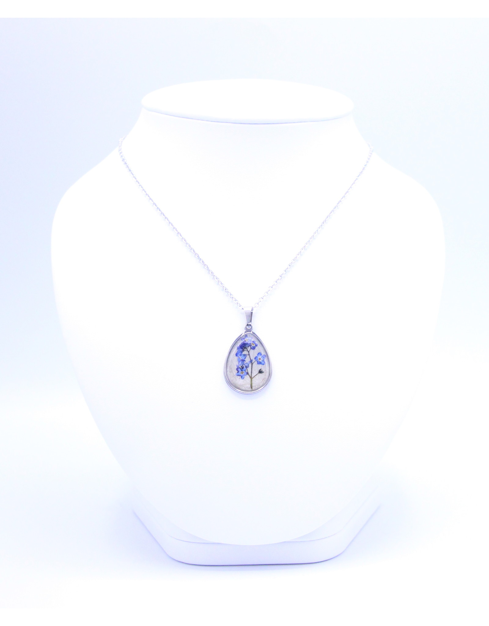 25mm Forget Me Not Necklace - N25FMN3