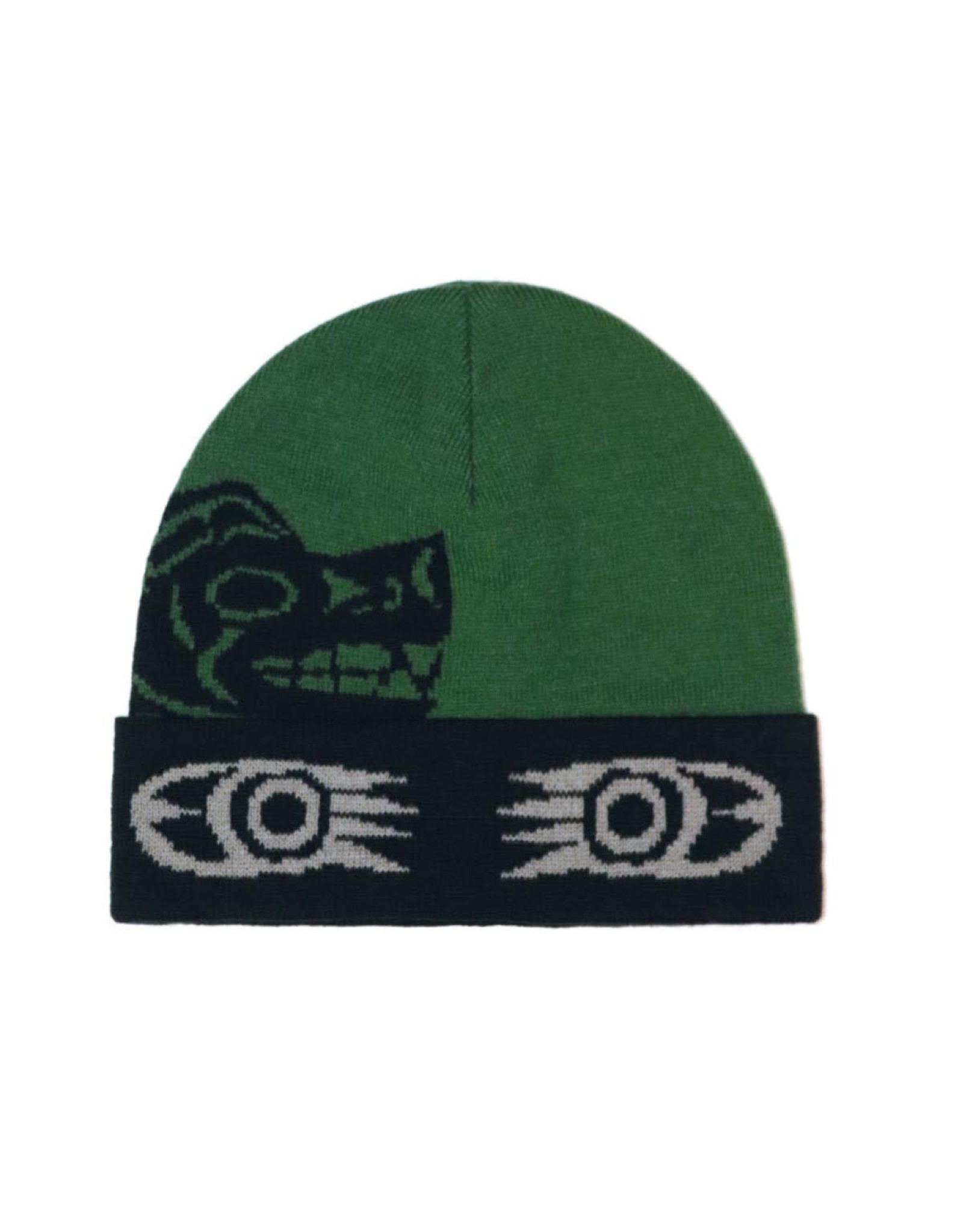 Knitted Tuque  - Grizzly by Maynard Johnny Jr (TQJG2)