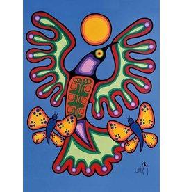 Pure Freedom by Jim Oskineegish Canvas