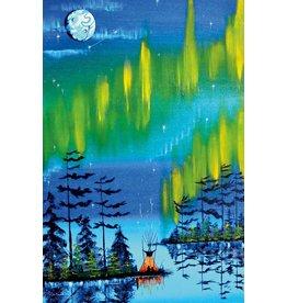 Northern Lights by William Monague Canvas