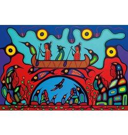 Sacred Journey by Frank Polson Canvas