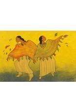 Autumn Dance by Maxine Noel Canvas
