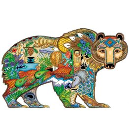 Grizzly Bear by Sue Coccia Large Canvas