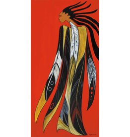 Tribal Pride by Maxine Noel Large Canvas
