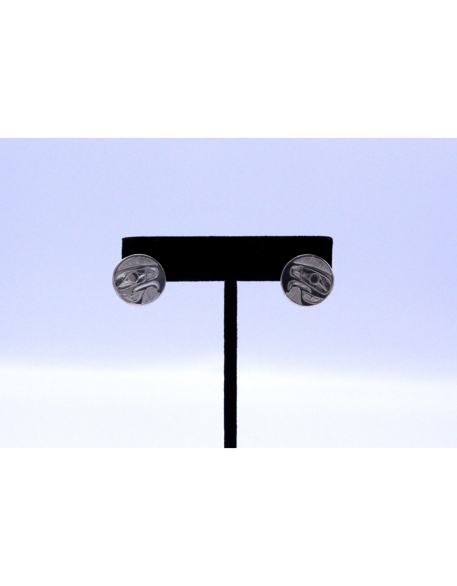 Eagle Round Earrings by Nusmata - NRE05
