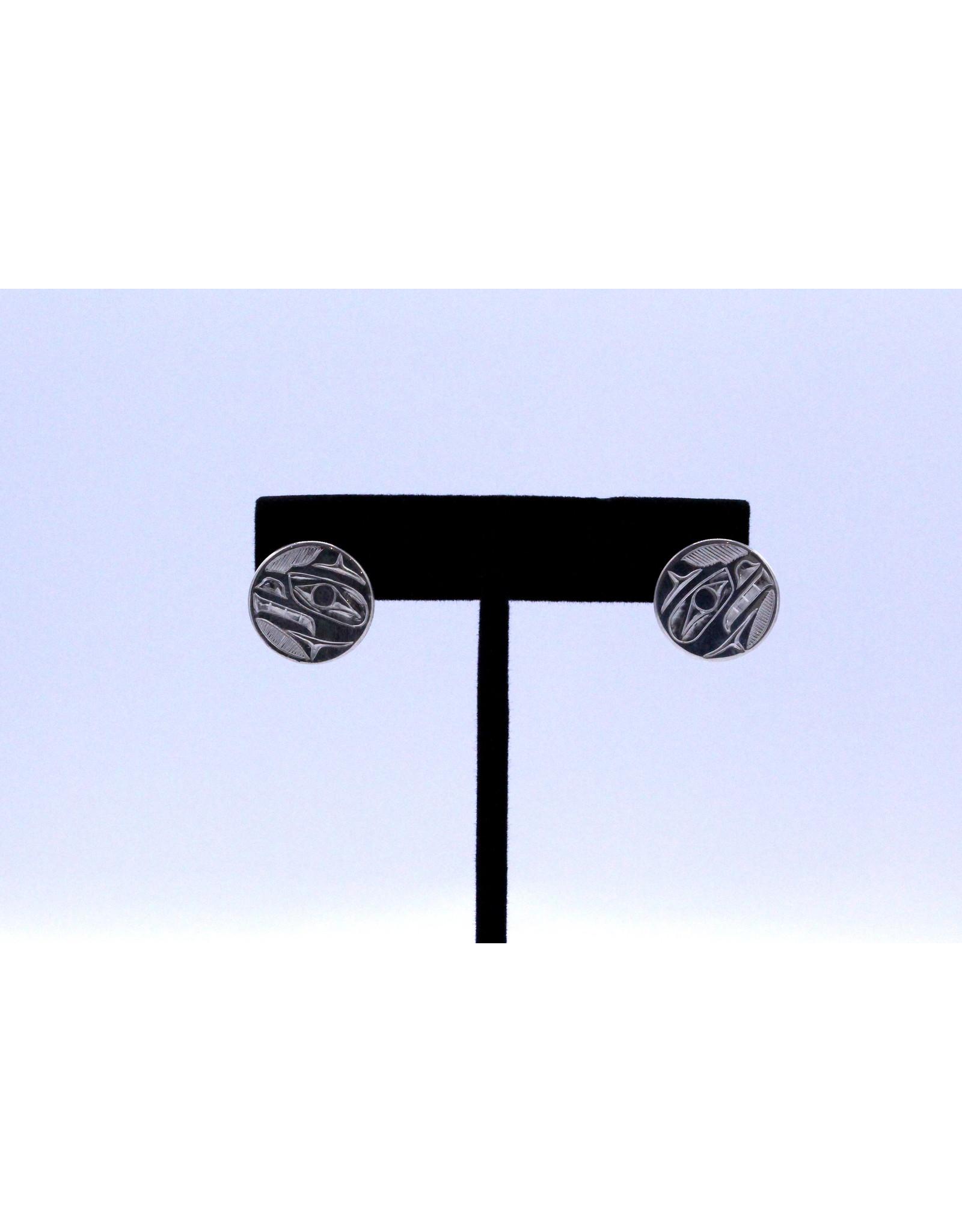 Bear Round Earrings by Nusmata - NRE01