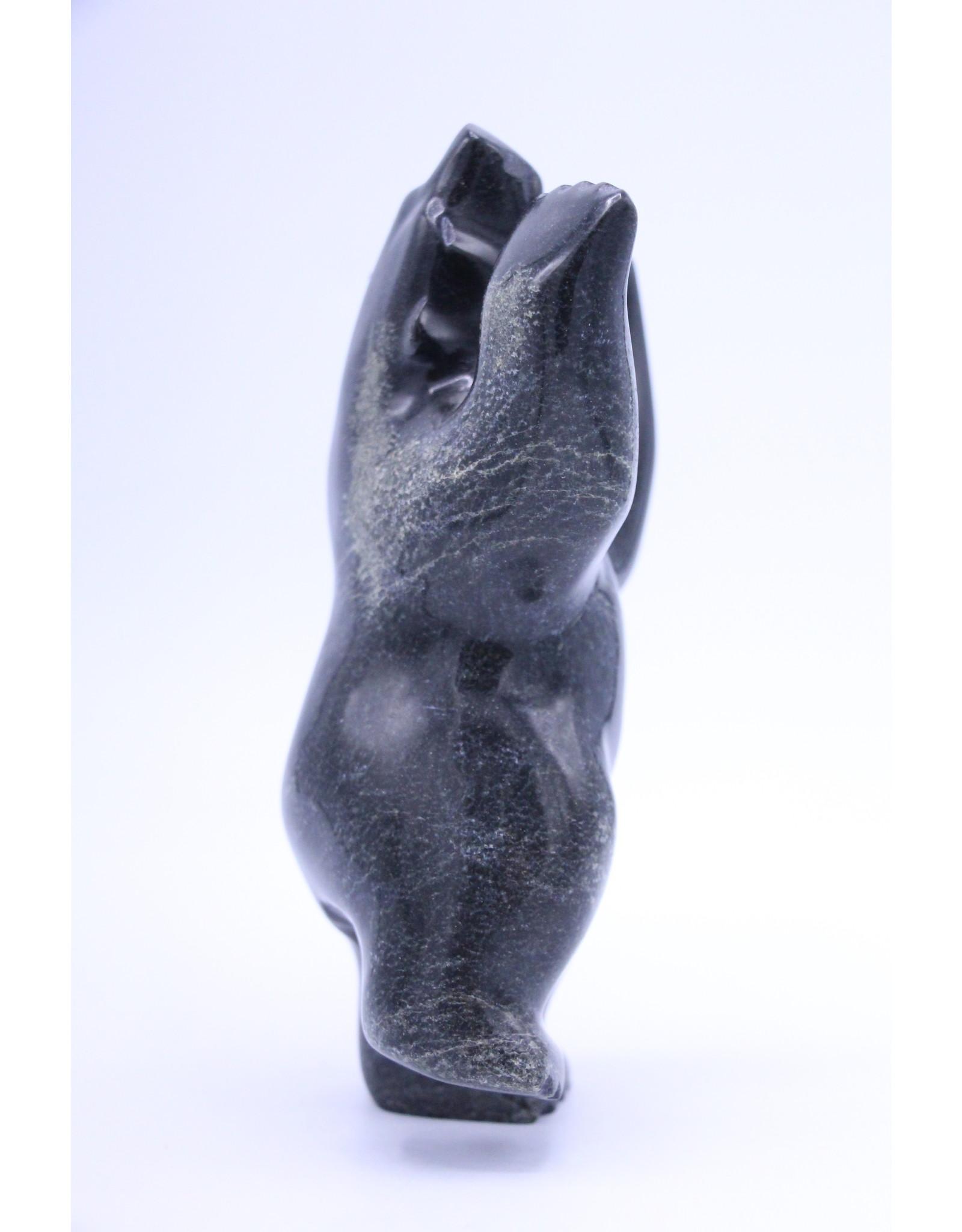 Dancing Bear by Tony Oqutaq -7832L