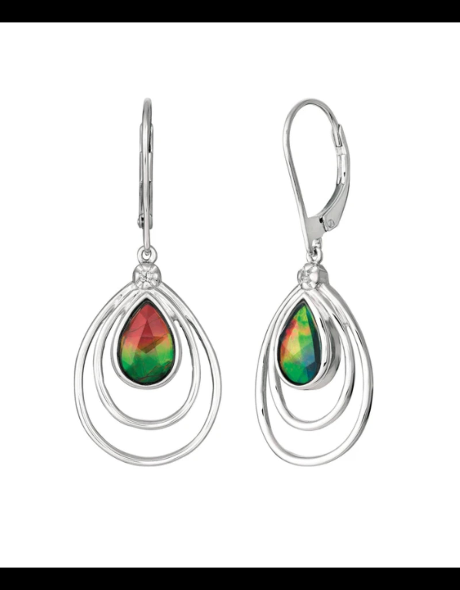 Abigail Earrings - SE3083WF Silver