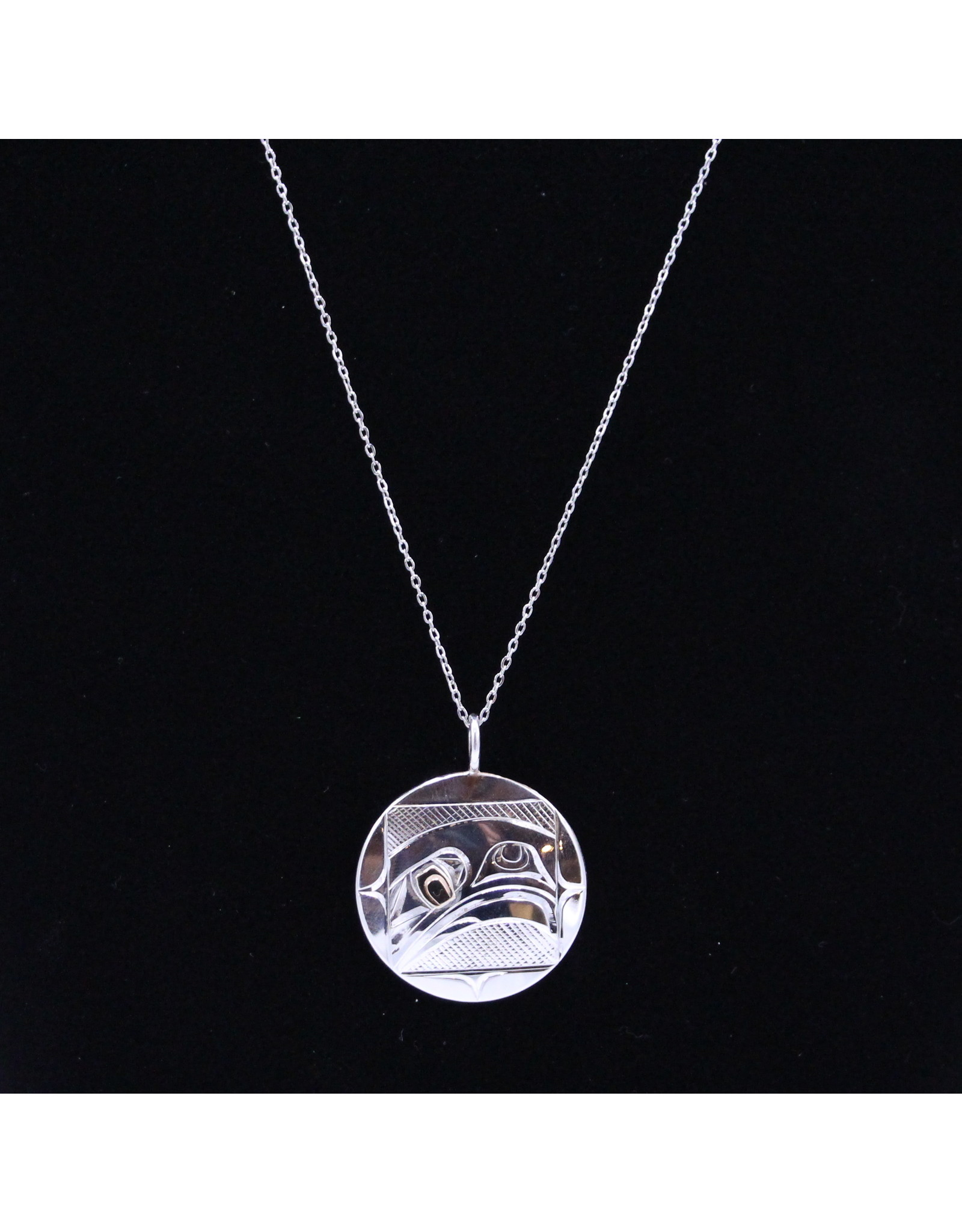 Eagle Round Necklace by Corrine Hunt - CHP11