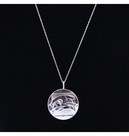 Eagle Round Necklace by Corrine Hunt