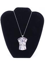 Copper Eagle Shield Necklace by Corrine Hunt - CHP18