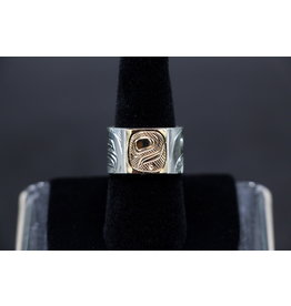 Eagle & Raven Ring by Corrine Hunt