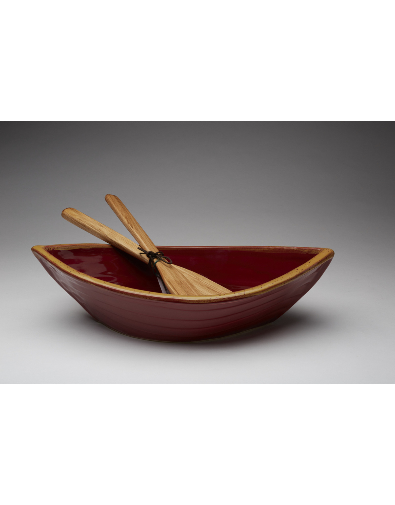 Dory Bowl - Red & Gold