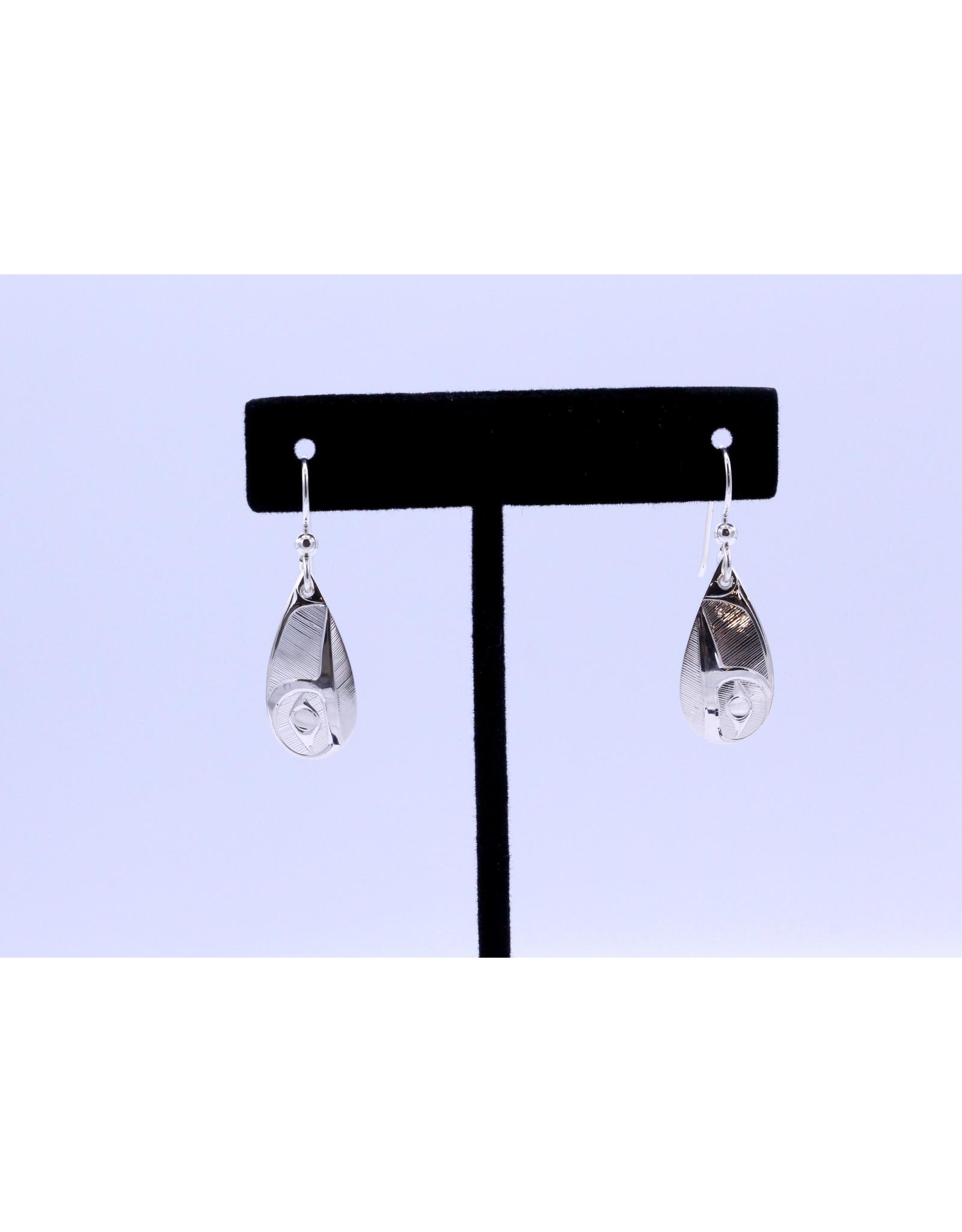 Hummingbirds Teardrop Earrings by Hollie Bear - HBE02