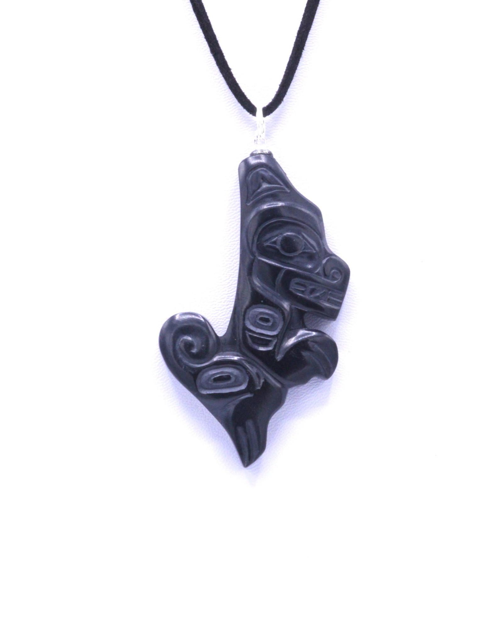 Argillite Pendant by Gryn White - GWP05