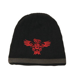 Knitted Tuque - Eagle by Allan Weir