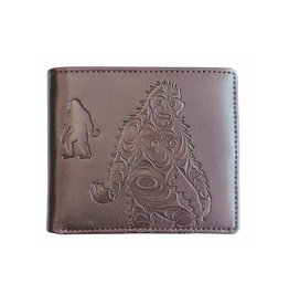Embossed Wallet  by Francis Horne Sr. - Sasquatch
