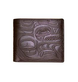 Embossed Wallet by Paul Windsor Brown - Spirit Wolf