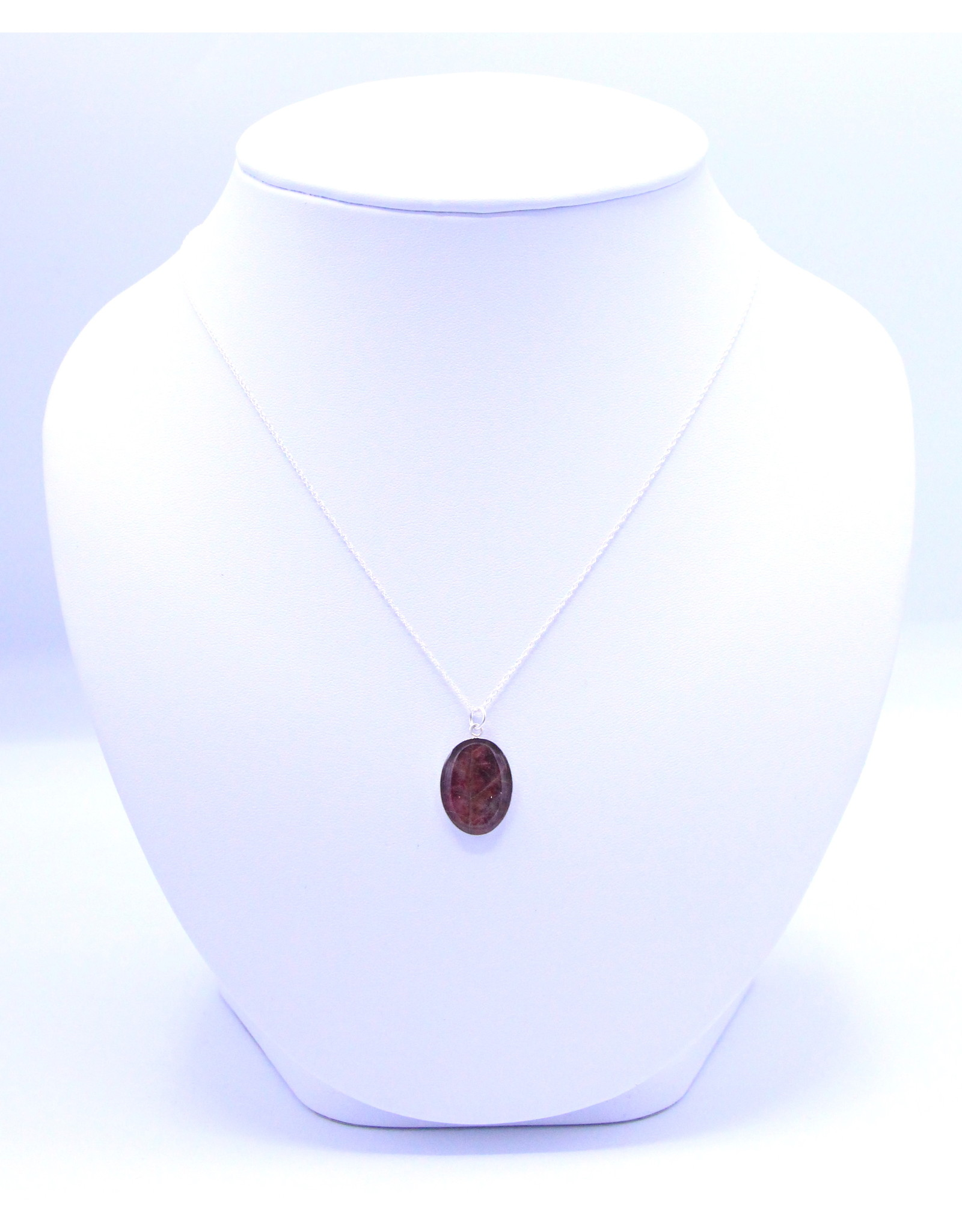 Maple Leaf 18x13mm Silver Necklace - ML1813S