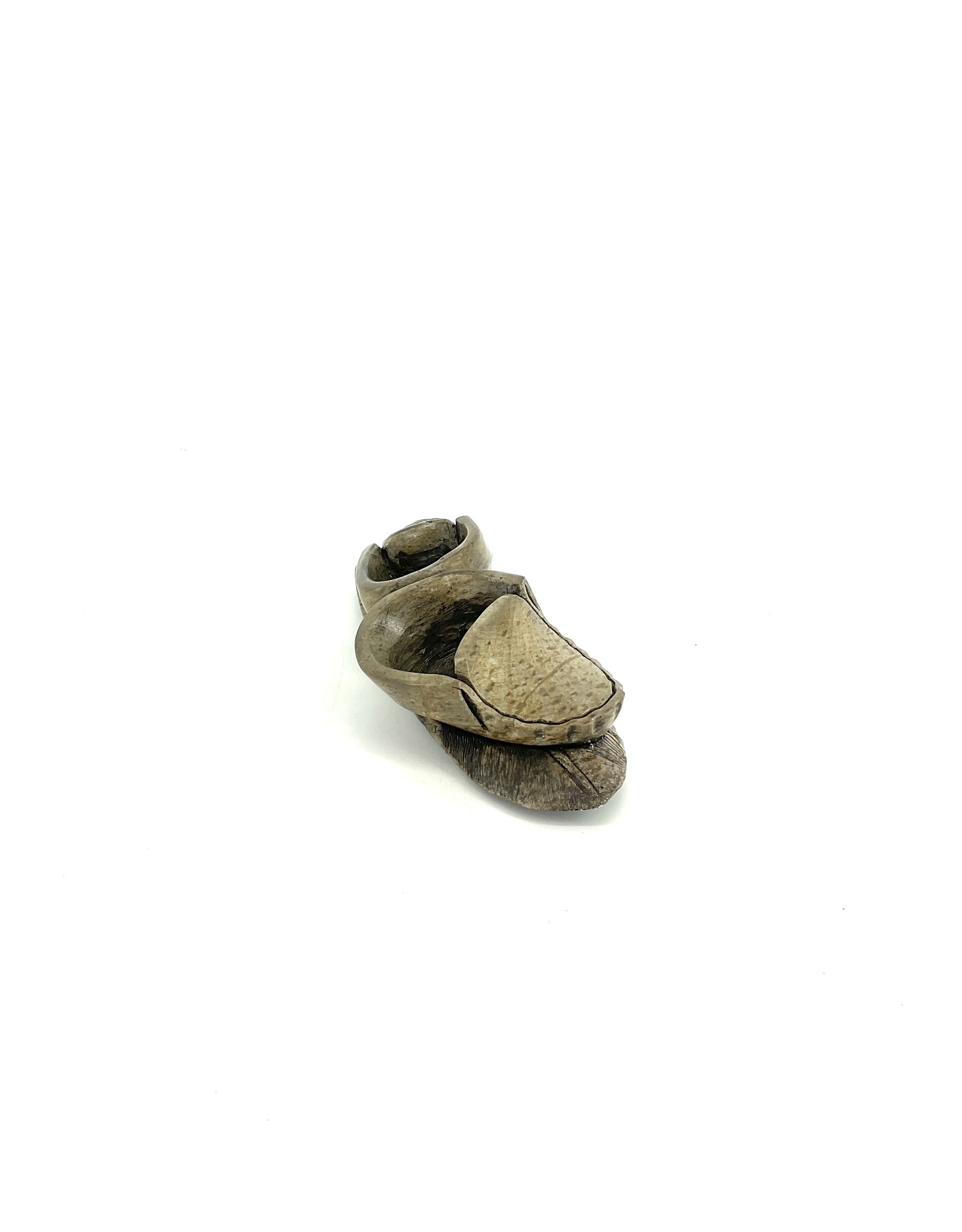 1658 Child Moccasins by Todd Longboat