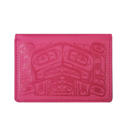 Raven Box by Allan Weir Card Wallet - Pink