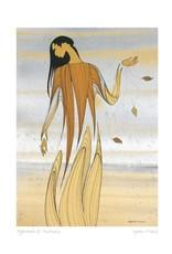 Approach of Autumn par Maxine Noel Carte