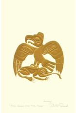 The Eagle and the Frog by Bill Reid Card