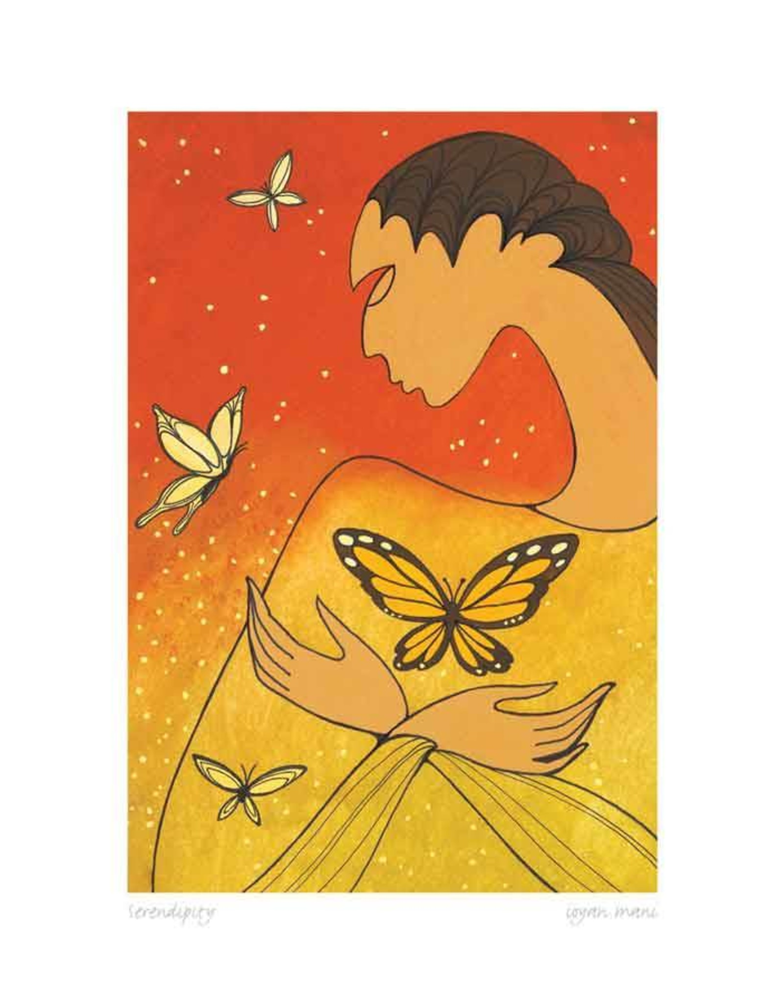 Serendipity par Maxine Noel Carte