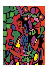 Great Mother by Norval Morrisseau Card