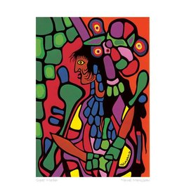 Great Mother par Norval Morrisseau Carte