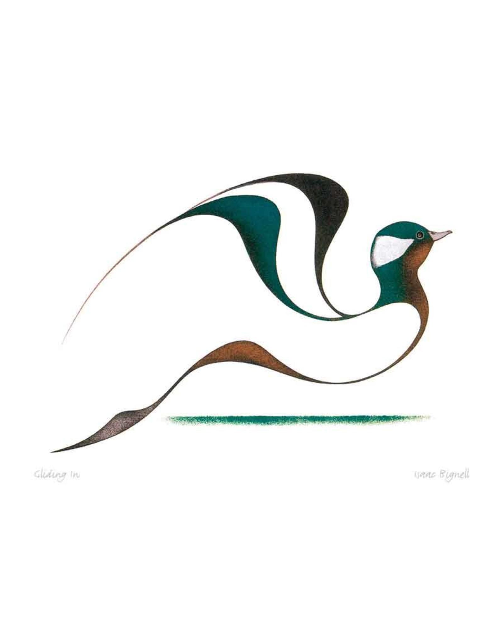 Gliding In par Isaac Bignell Carte