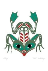 Frog by Pat Wesley Card