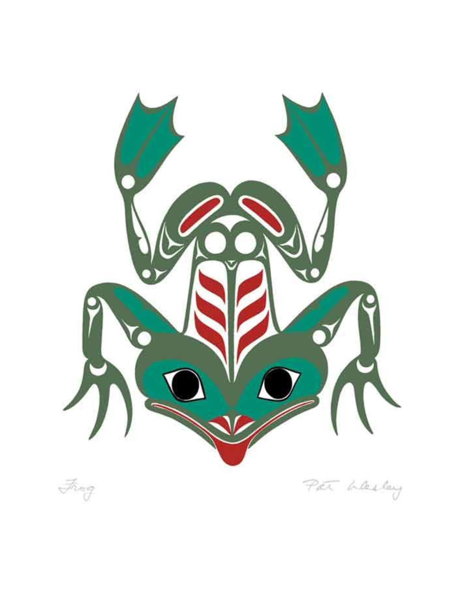 Frog par Pat Wesley Carte