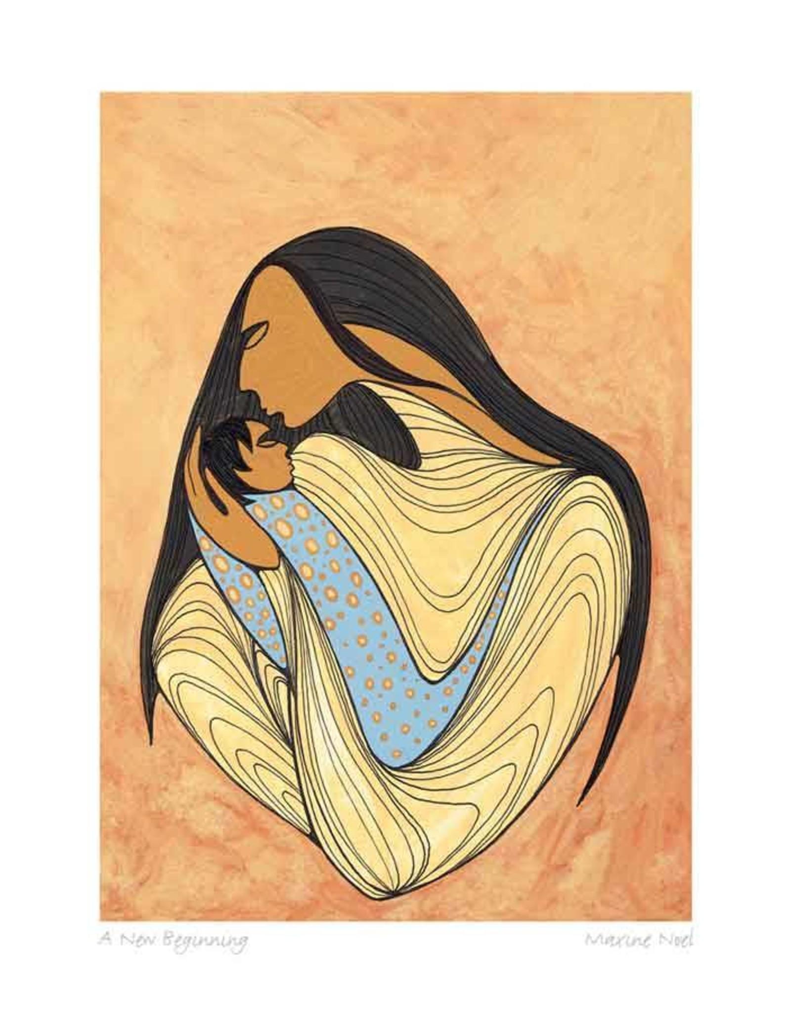 A New Beginning par Maxine Noel Carte