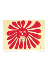 The Woman Who Lives in the Sun by Kenojuak Ashevak Card
