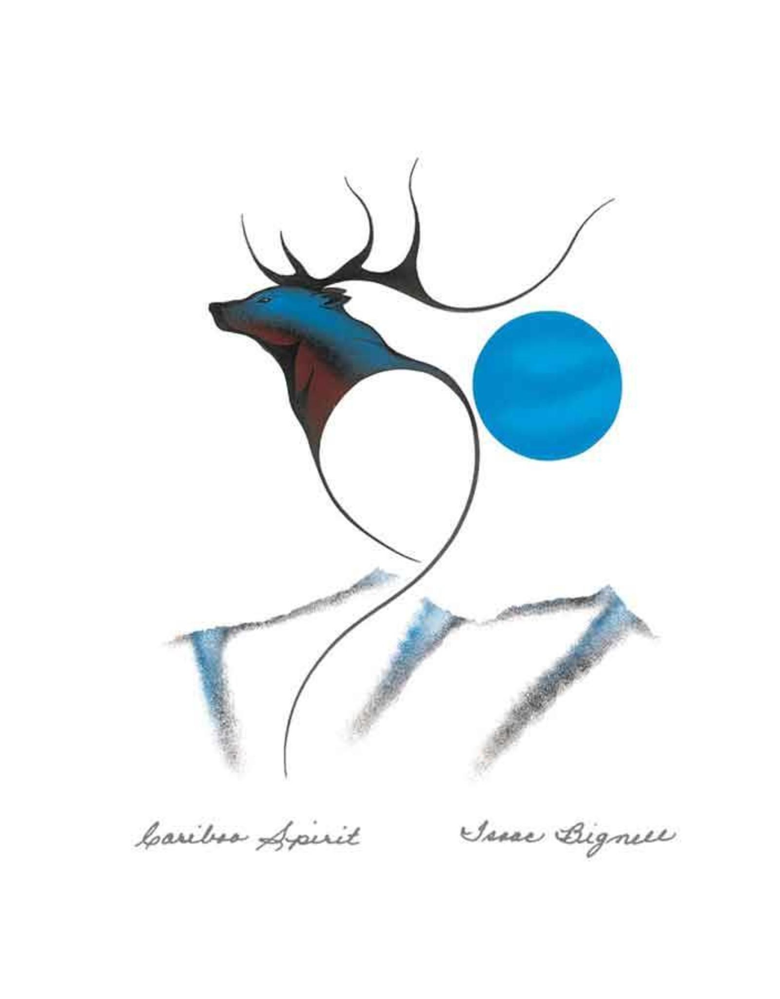Cariboo Spirit par Isaac Bignell Carte