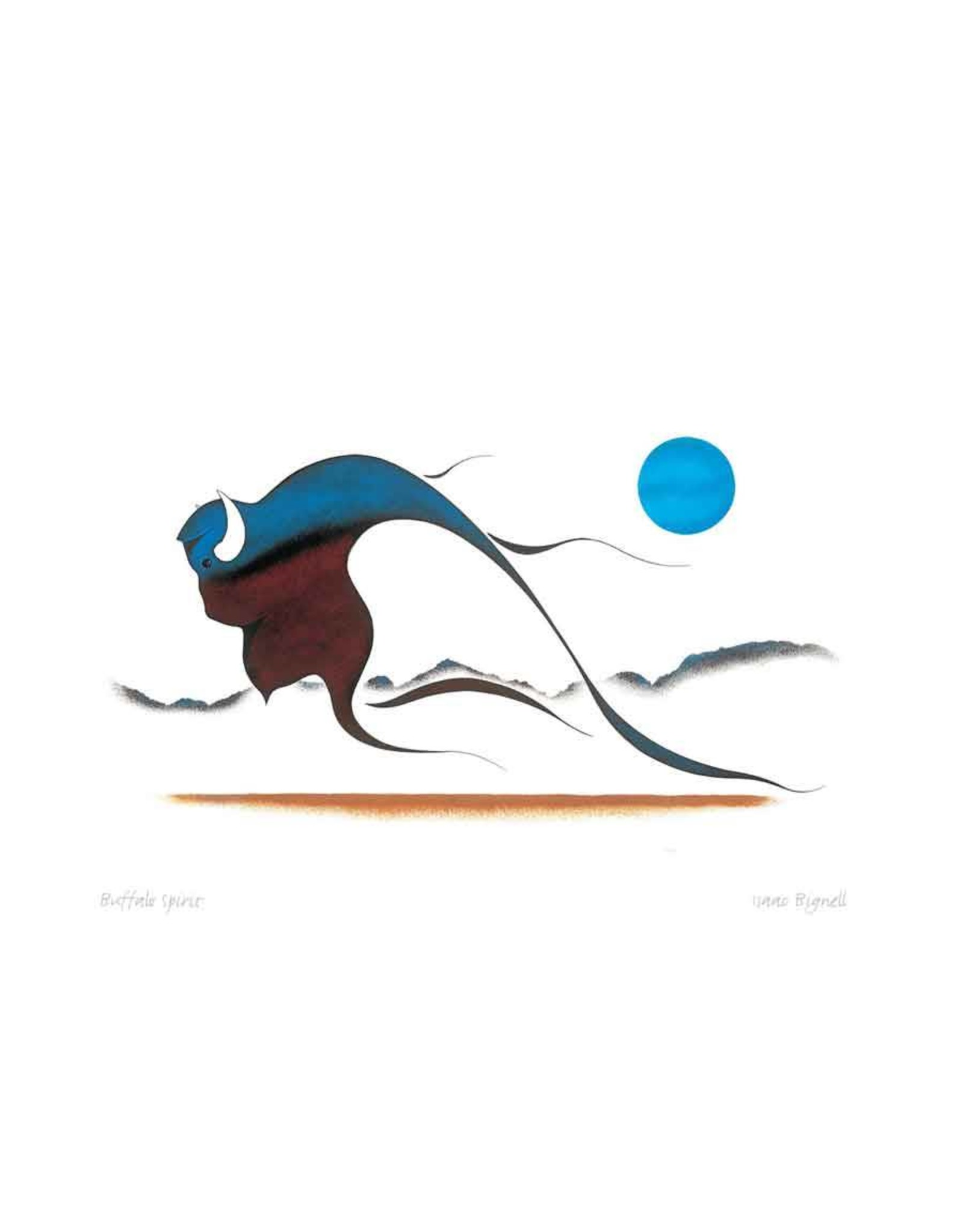Buffalo Spirit by Isaac Bignell Card