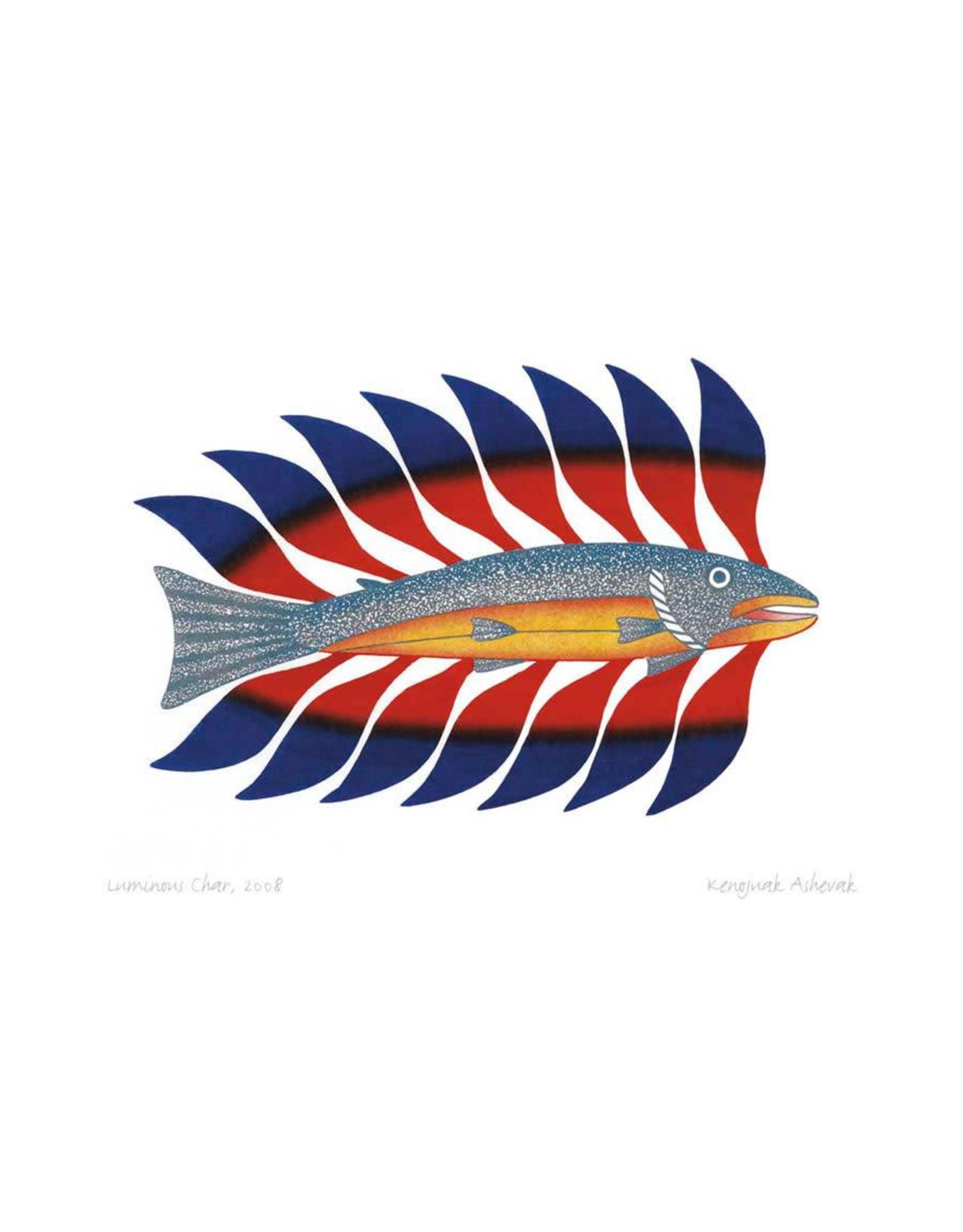 Luminous Char, 2008 by Kenojuak Ashevak Card