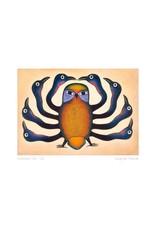 Guardian Owl, 1997 by Kenojuak Ashevak Card