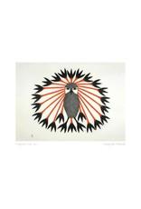 Majestic Owl, 2011 by Kenojuak Ashevak Card