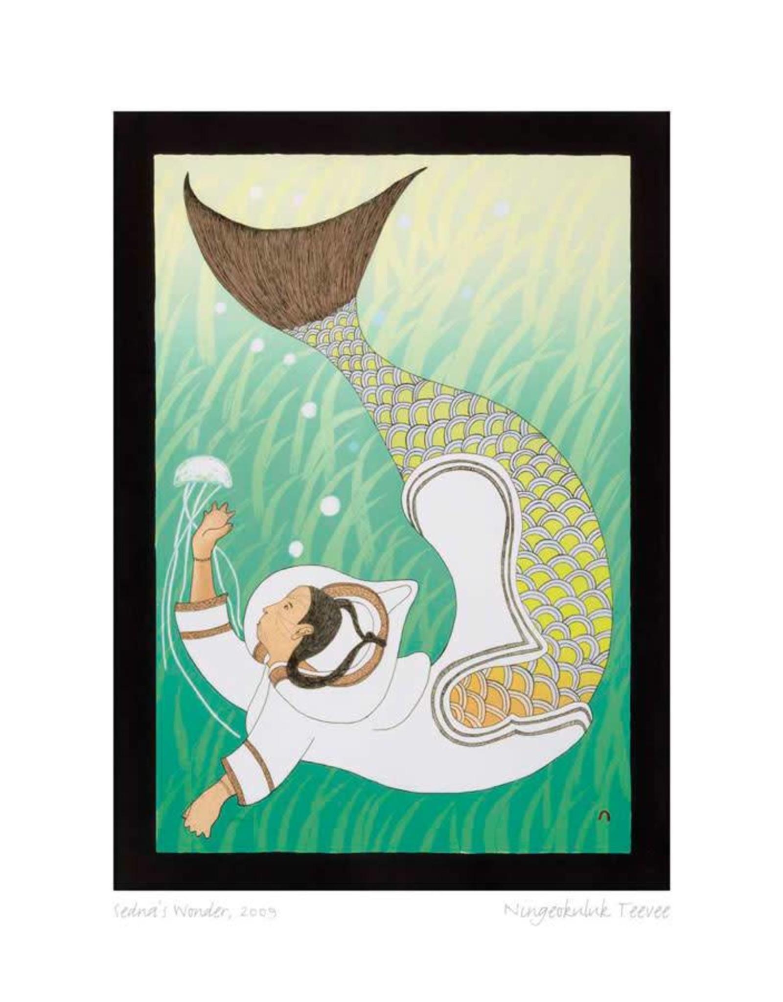 Sedna's Wonder, 2009 by Ningeokuluk Teevee Card