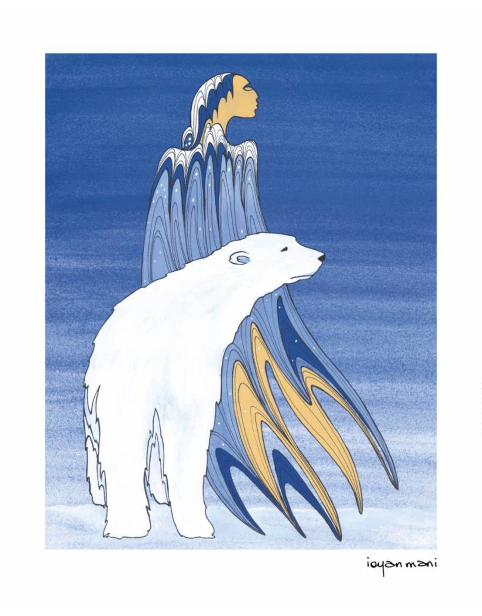 Mother Winter by Maxine Noel Card