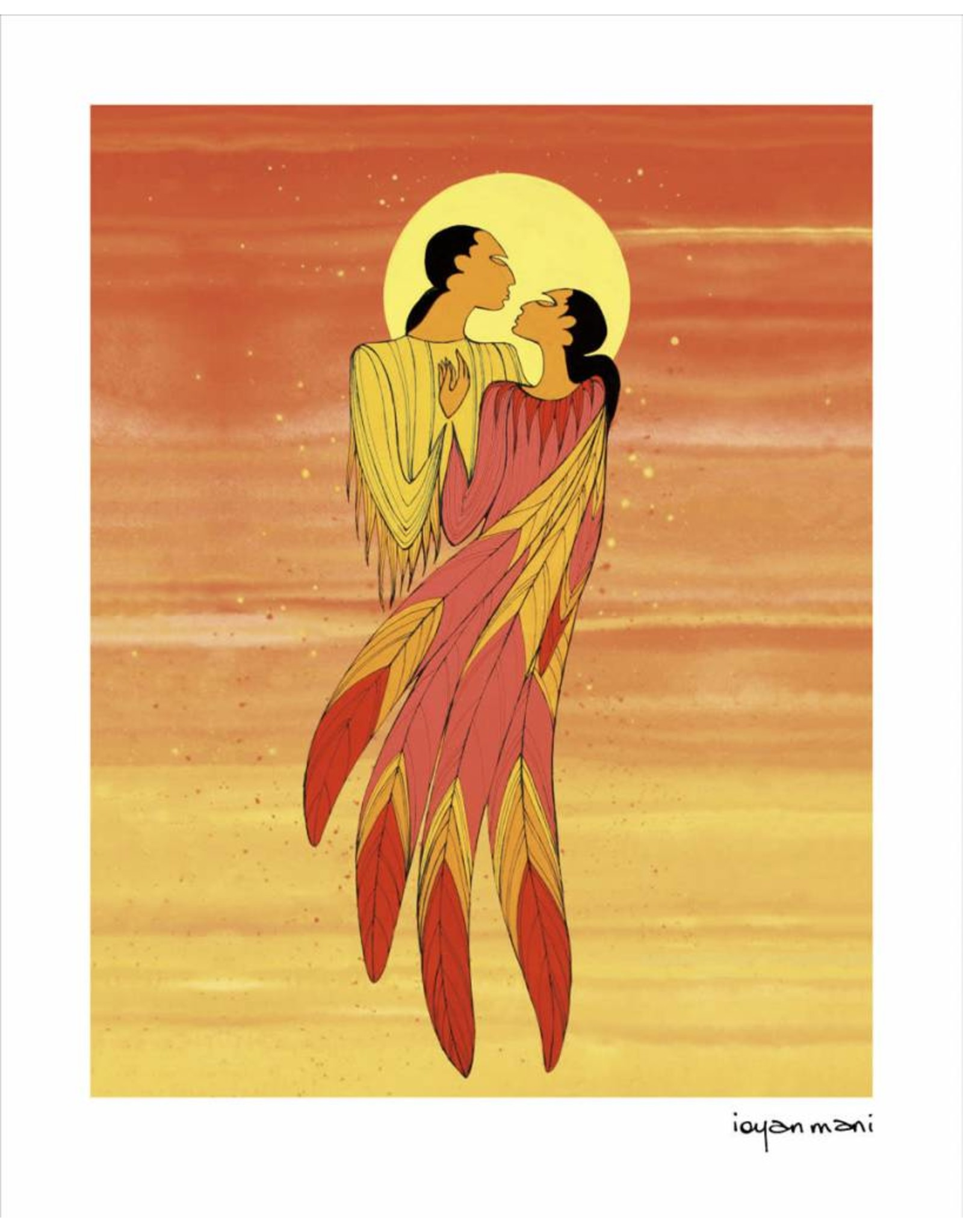 The Embrace by Maxine Noel Card