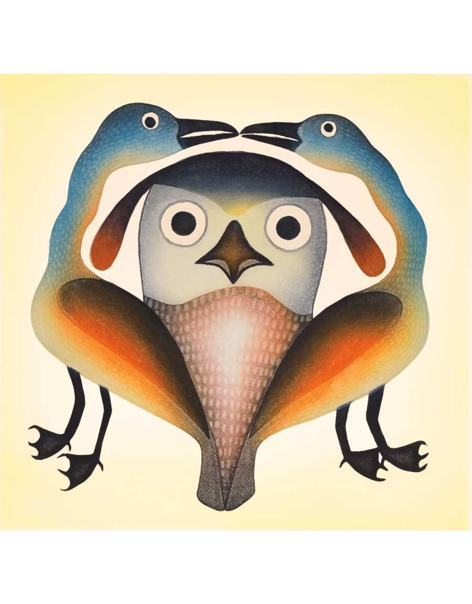 Curious Intruder by Kenojuak Ashevak Card