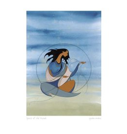 Spirit of the Winds by Maxine Noel Matted