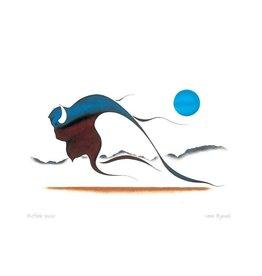 Buffalo Spirit par Isaac Bignell Montée sur Passe-Partout