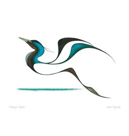 Taking Flight by Isaac Bignell Matted